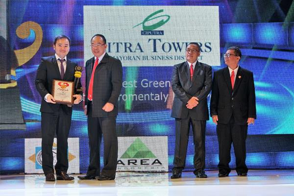 Raih Best Green Office di Property & Bank Award 2018